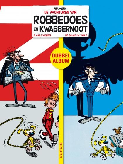 Robbedoes en Kwabbernoot - Tweeluik - 'Z van Zwendel / De schaduw van Z