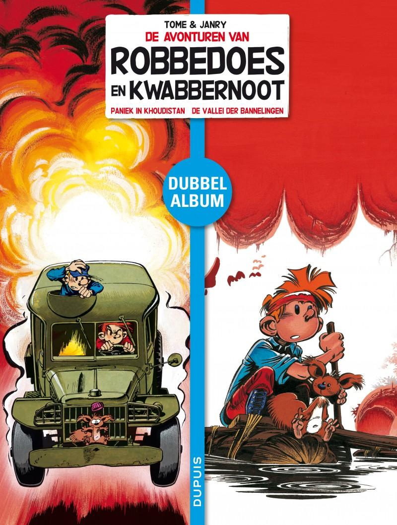 Robbedoes en Kwabbernoot - Tweeluik - tome 3 - Paniek in Khoudistan/De vallei der banneling