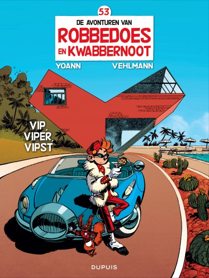 Robbedoes en Kwabbernoot  - Vip, Viper, Vipst