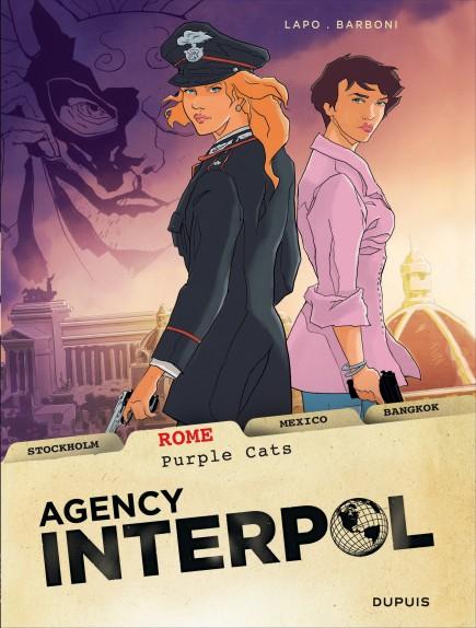 Agency Interpol - Rome, Purple cats