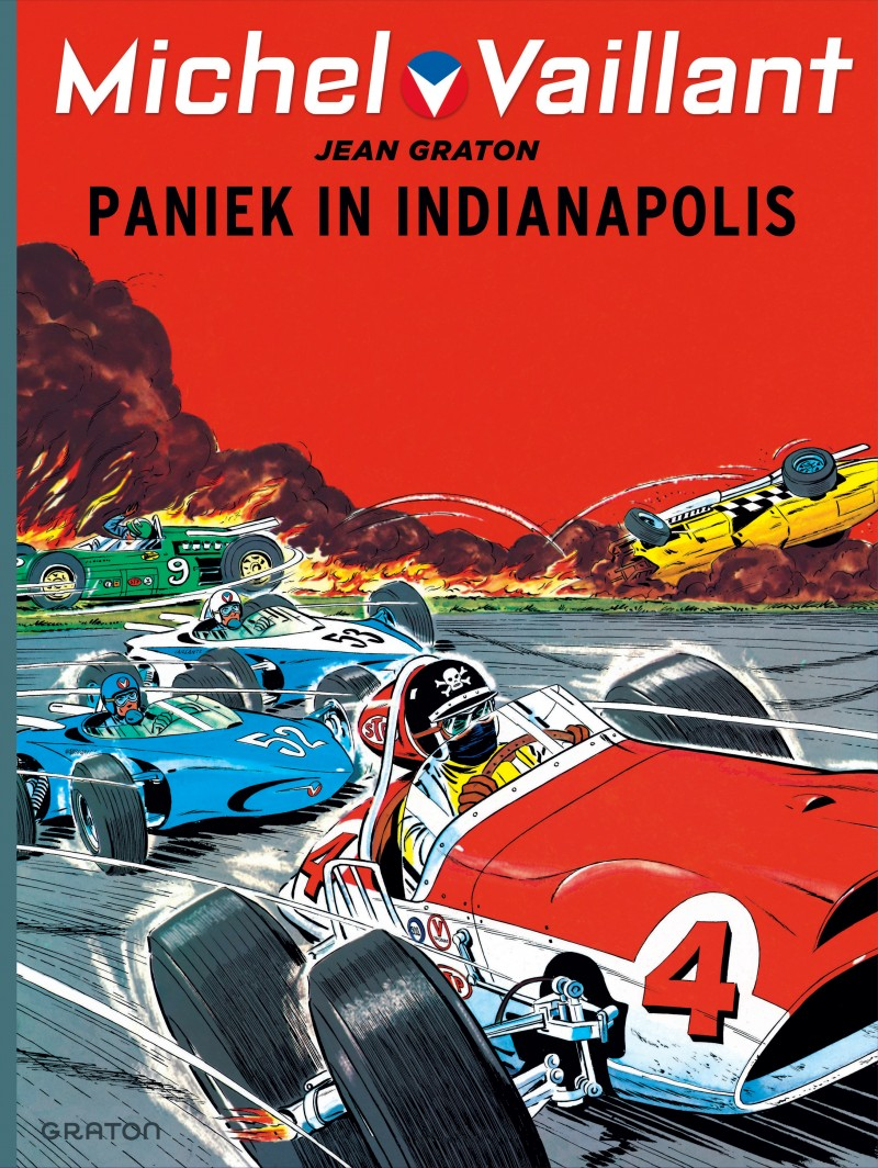 Michel Vaillant - tome 11 - Paniek in Indianapolis