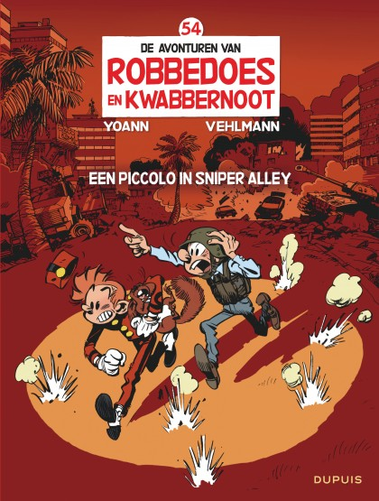 Robbedoes en Kwabbernoot  - Een piccolo in Sniper Alley