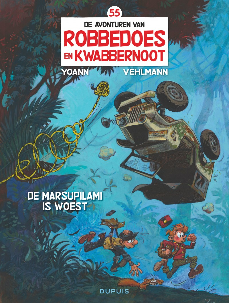 Robbedoes en Kwabbernoot  - tome 55 - De Marsupilami is woest