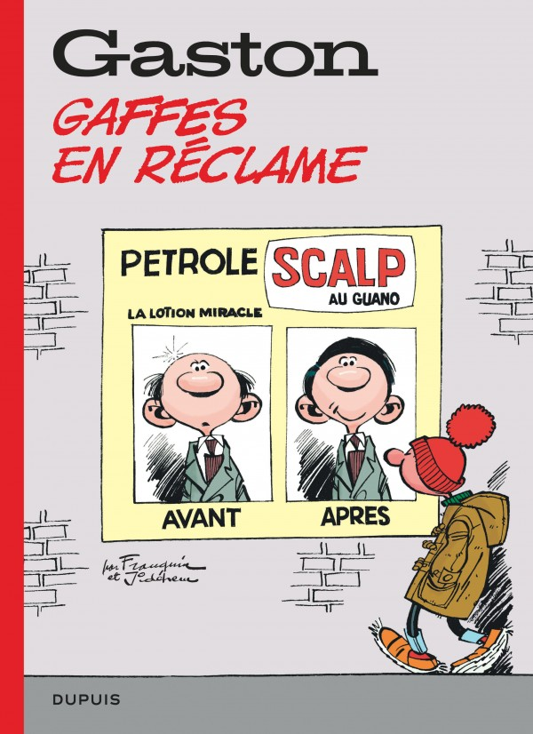 cover-comics-gaston-hors-srie-tome-7-gaffes-en-rclame