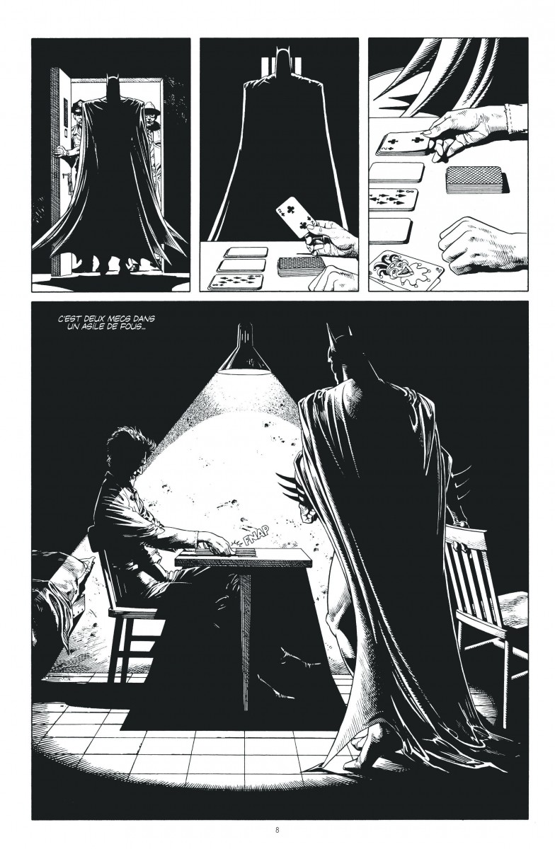 batman the killing joke dition noir et blanc le blog comics de xmancyclops. Black Bedroom Furniture Sets. Home Design Ideas