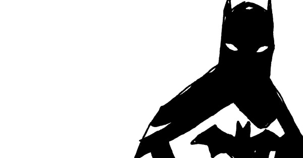 batman-black-and-white