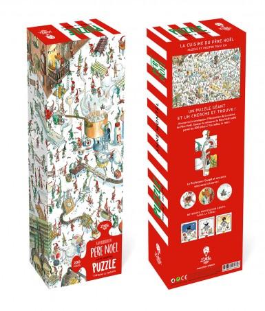 Puzzle géant À la recherche du Père Noël