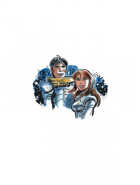 Les habitants du ciel - Atlas cosmique de Valérian et Laureline