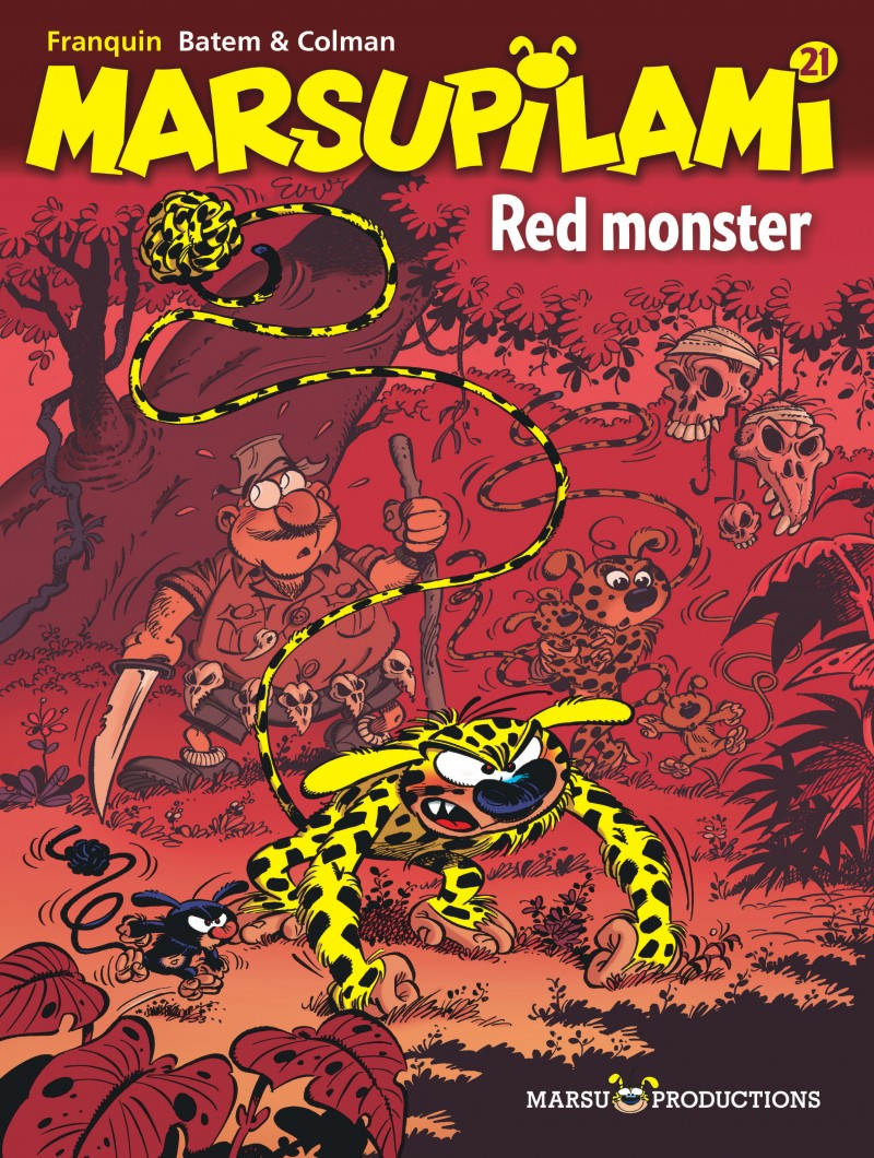 Marsupilami - tome 21 - Red monster