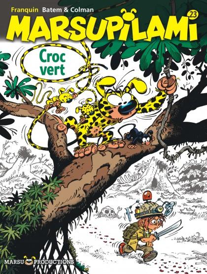 Marsupilami - Croc vert