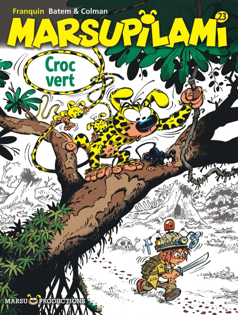 Marsupilami - tome 23 - Croc vert