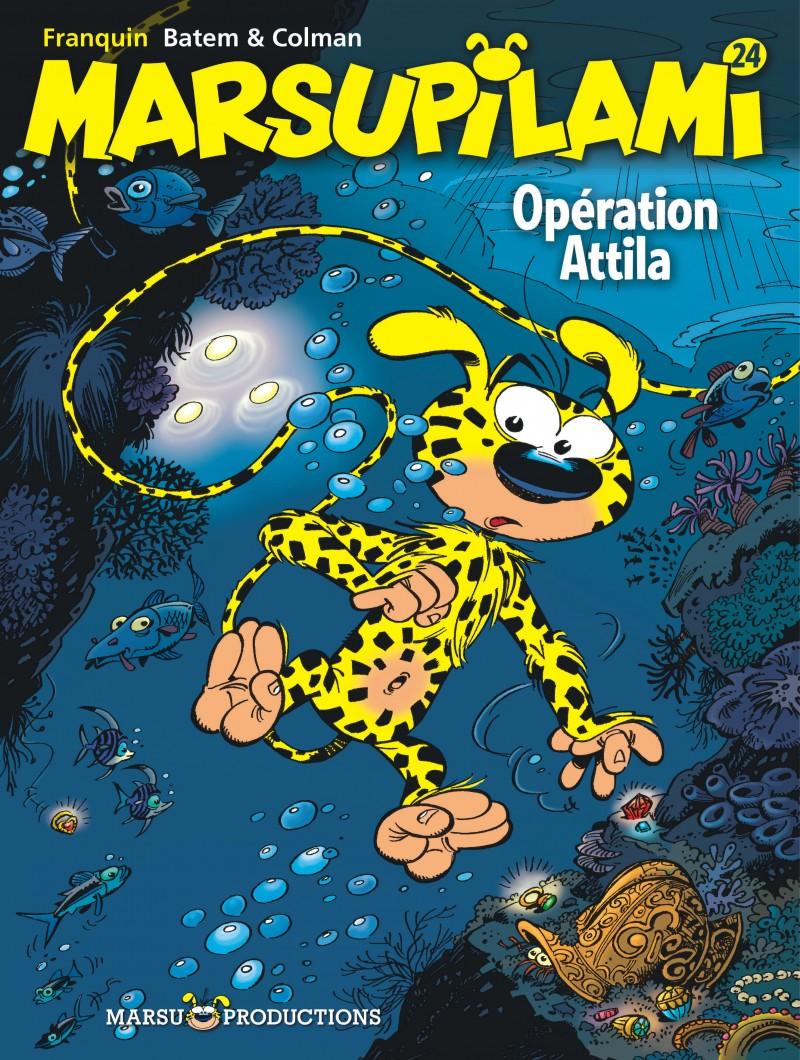 Marsupilami - tome 24 - Opération Attila