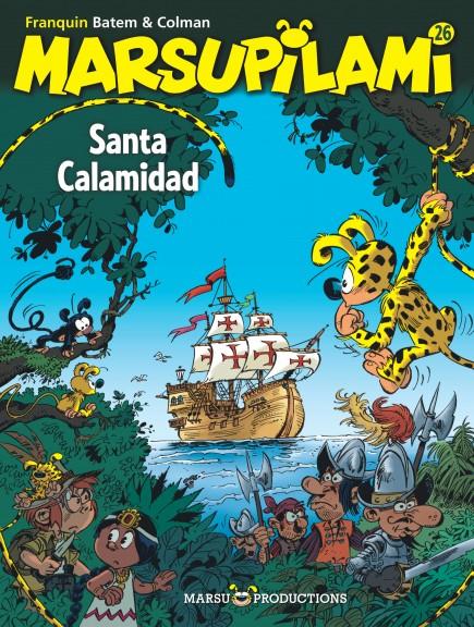 Marsupilami - Santa Calamidad