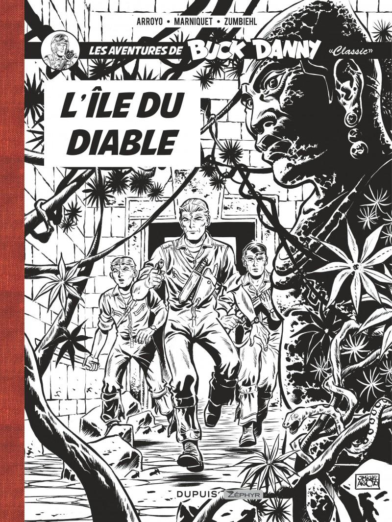 Buck Danny Classic - tome 4 - L'île du diable