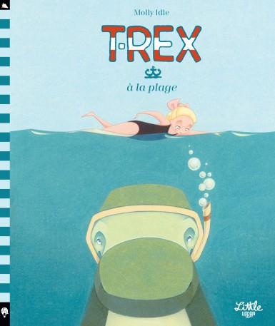 T-Rex à la plage