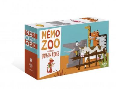 À la recherche du dragon rouge – Memo zoo