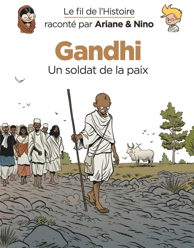 On the History Trail with Ariane & Nino - Gandhi