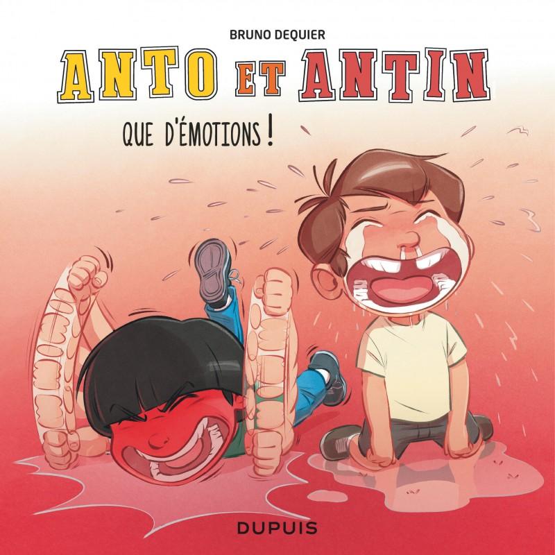Anto et Antin - tome 3 - Que d'émotions !