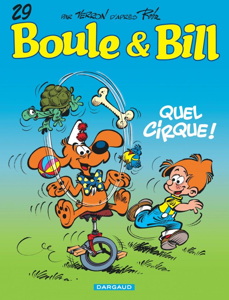 Boule et Bill - tome 29 - Quel cirque !