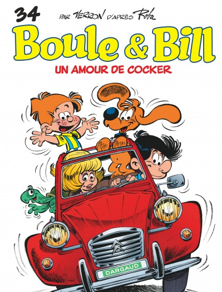 Boule et Bill - Un Amour de cocker