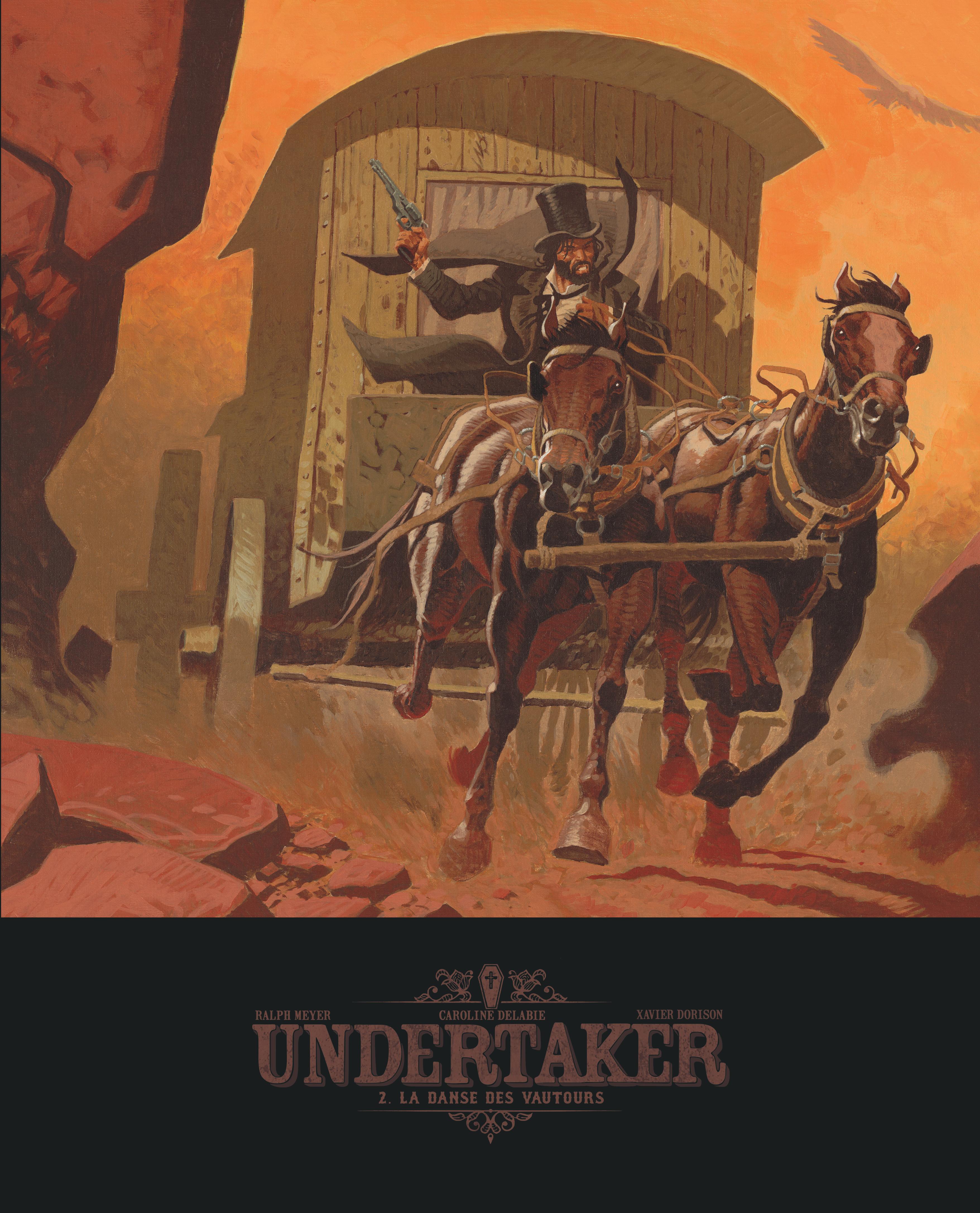 undertaker tome 2  la danse des vautours -  u00e9dition bibliophile