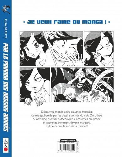 Par Le Pouvoir Des Dessins Animes Tome 0 Livres Manga Par Elsa