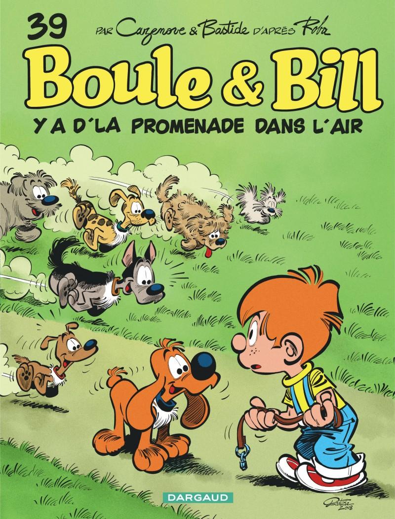 Boule et Bill - tome 39 - Y a d'la promenade dans l'air