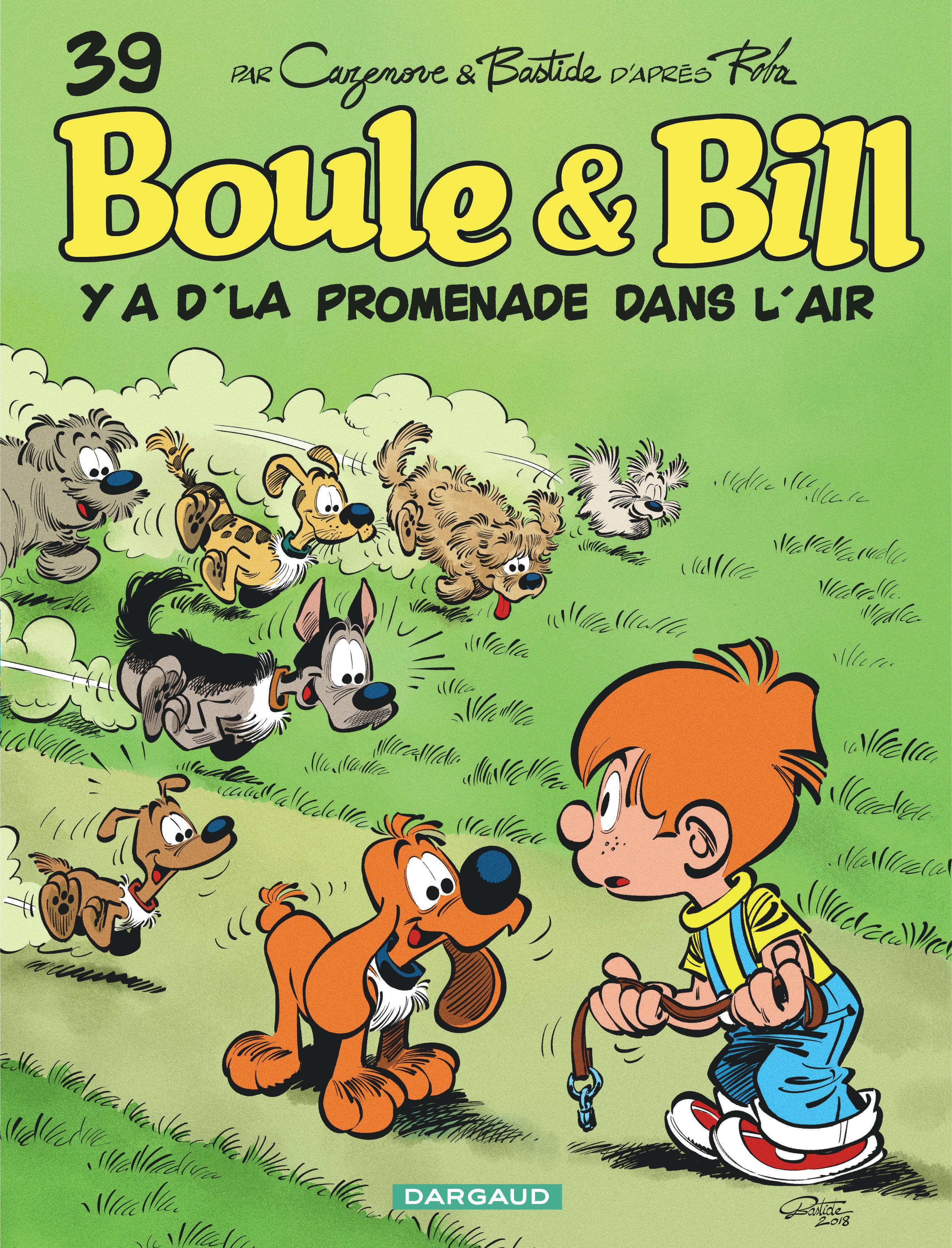 Boule Bill Tome 39 Y A D La Promenade Dans L Air Bd