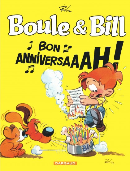 Billy and Buddy - Boule & Bill - Bon anniversaire !