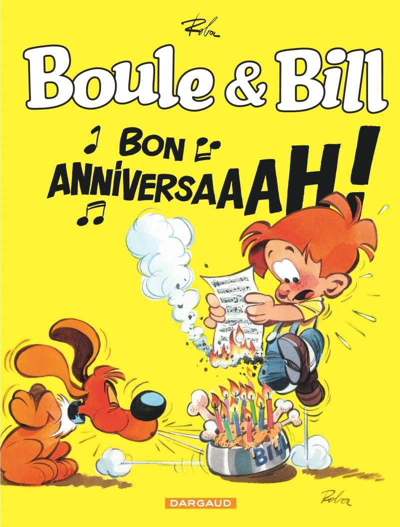 Boule Bill Bon Anniversaire From The Comic Book Serie Billy