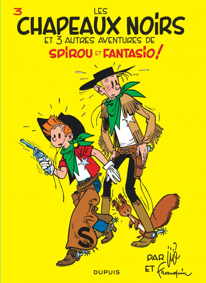 Spirou et Fantasio - tome 3 - Les Chapeaux noirs