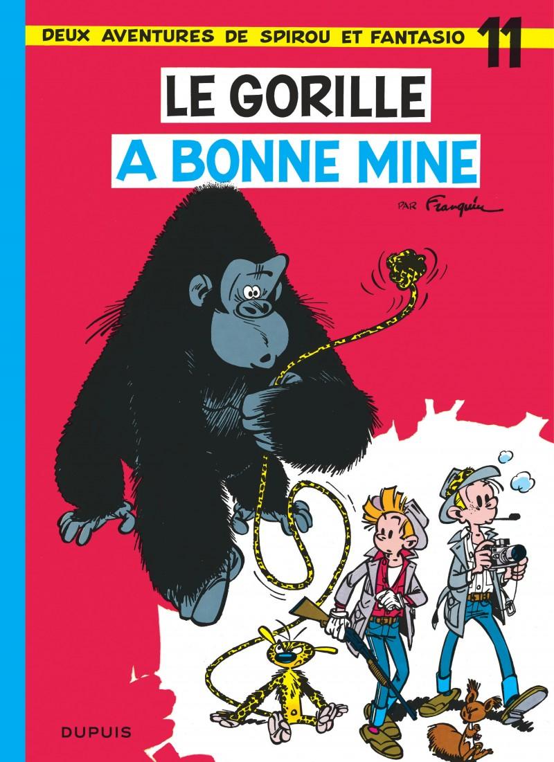 Spirou et Fantasio - tome 11 - Le Gorille a bonne mine