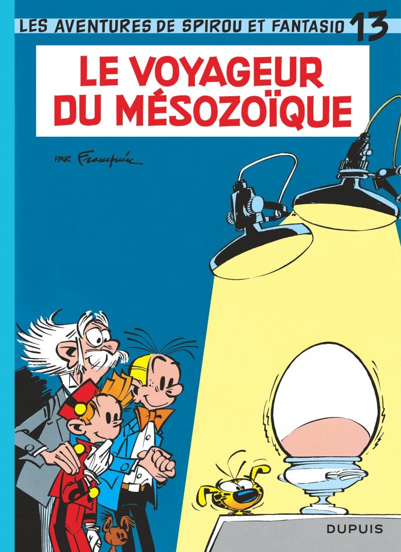 Spirou et Fantasio - tome 13 - Le Voyageur du Mésozoïque