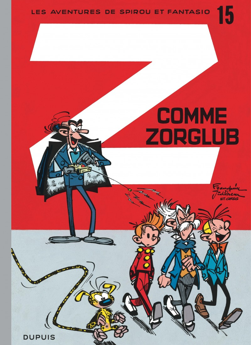 Spirou and Fantasio - tome 15 - Z comme Zorglub