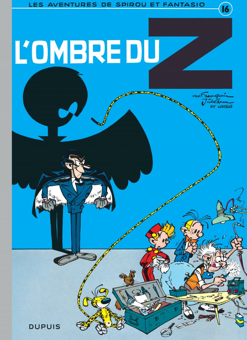 Spirou and Fantasio - tome 16 - L'Ombre du Z