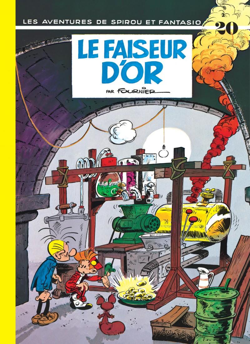 Spirou and Fantasio - tome 20 - Le Faiseur d'or