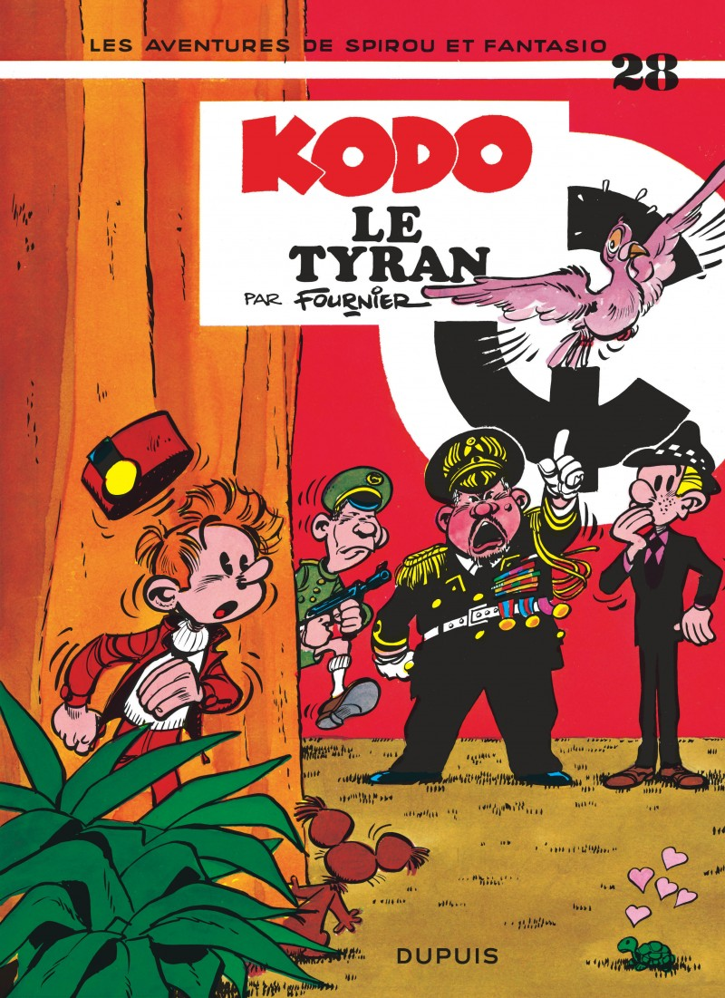 Spirou and Fantasio - tome 28 - Kodo, le Tyran