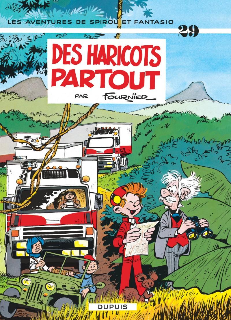Spirou and Fantasio - tome 29 - Des haricots partout
