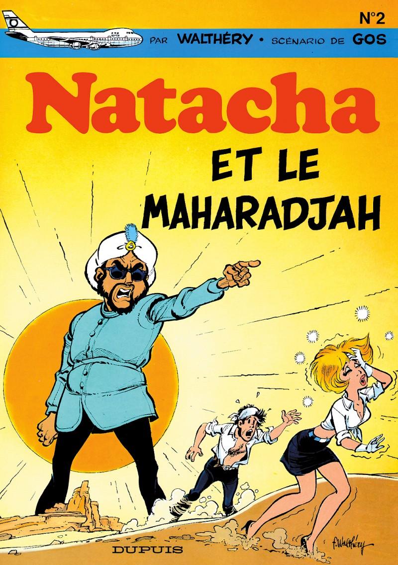 Natacha - tome 2 - Natacha et le maharadjah