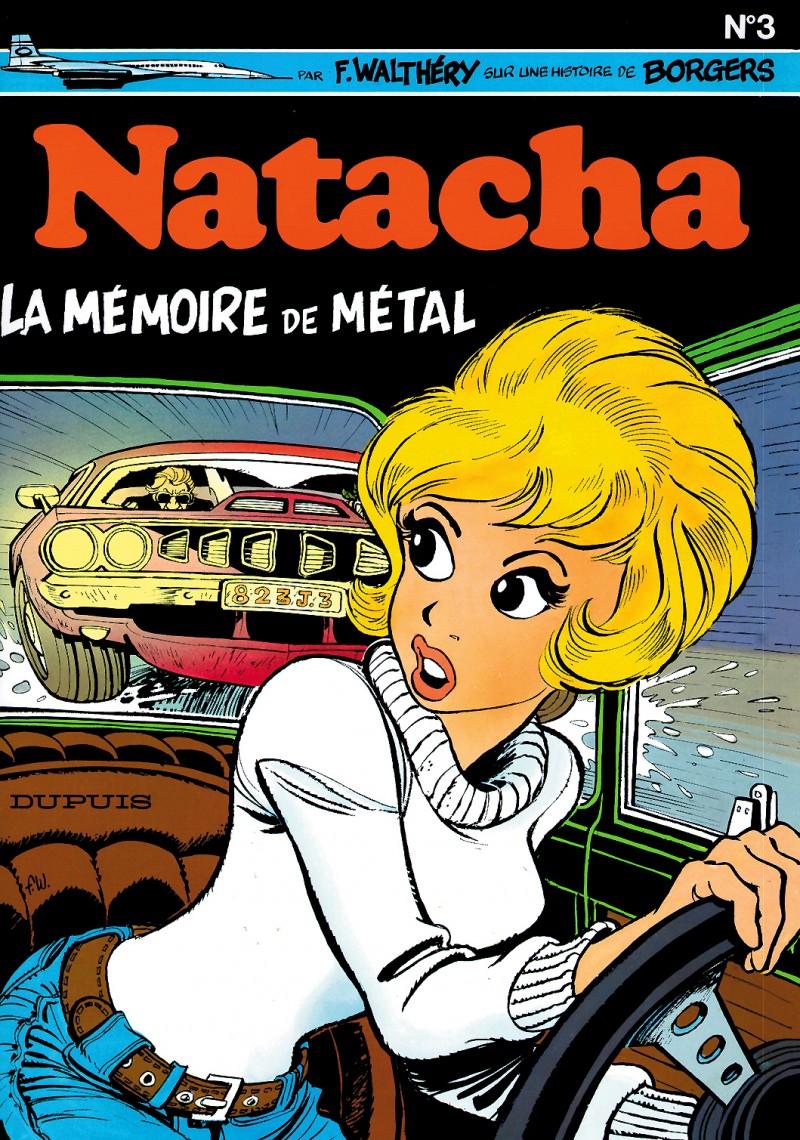 Natacha - tome 3 - La Mémoire de métal