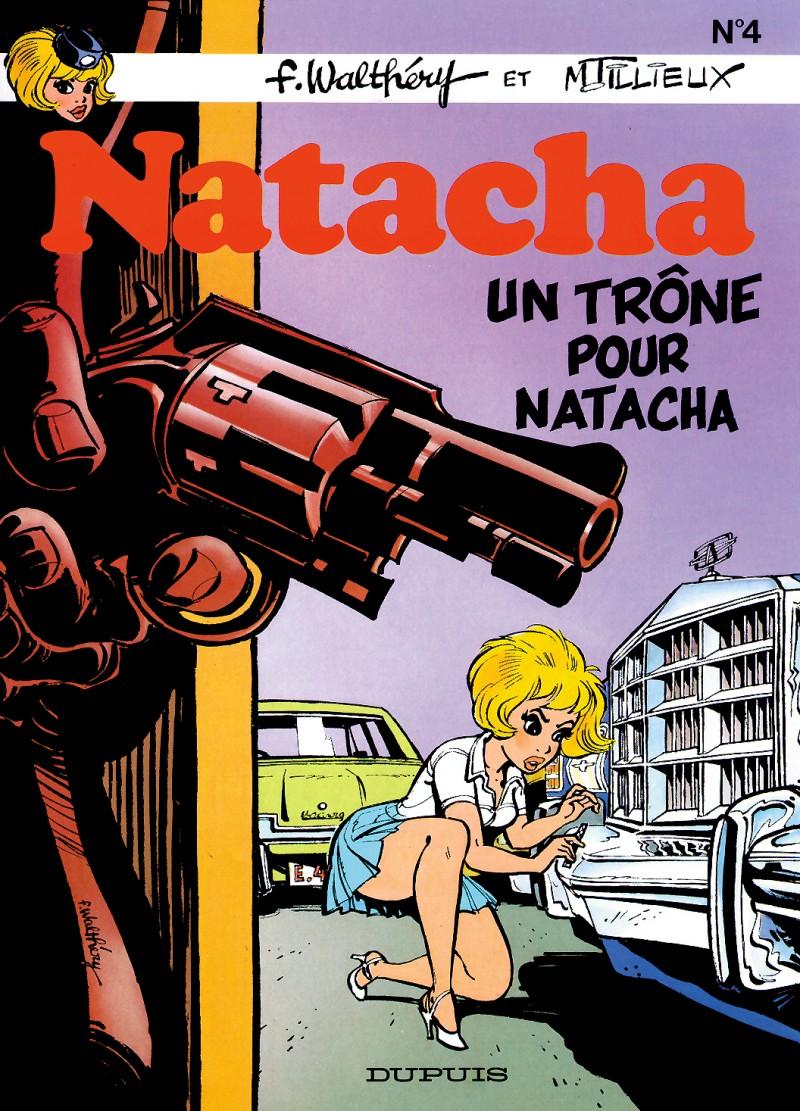 Natacha - tome 4 - Un trône pour Natacha