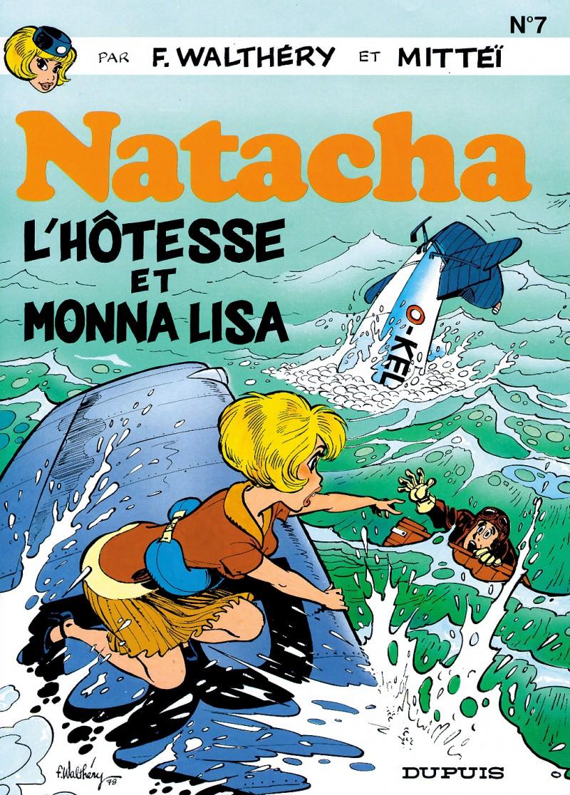 Natacha - tome 7 - L'Hôtesse et Monna Lisa