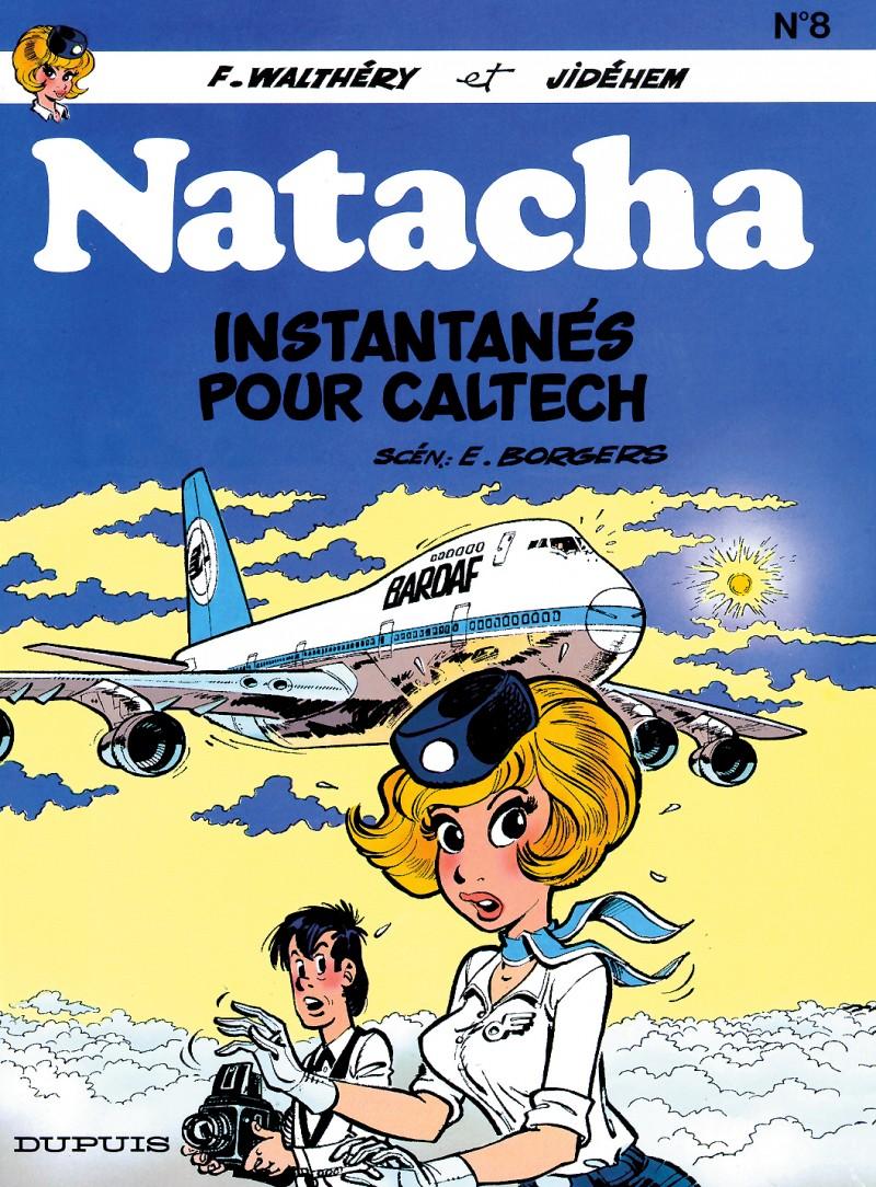 Natacha - tome 8 - Instantanés pour Caltech