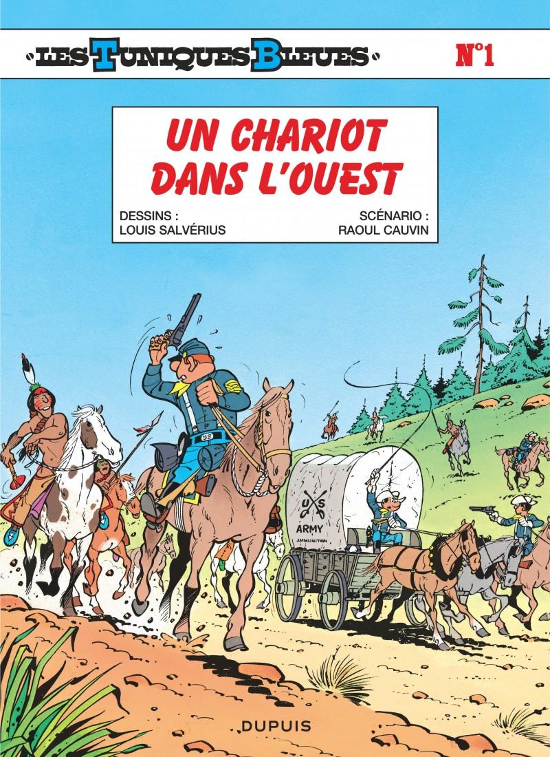 Les Tuniques Bleues - tome 1 - Un chariot dans l'Ouest