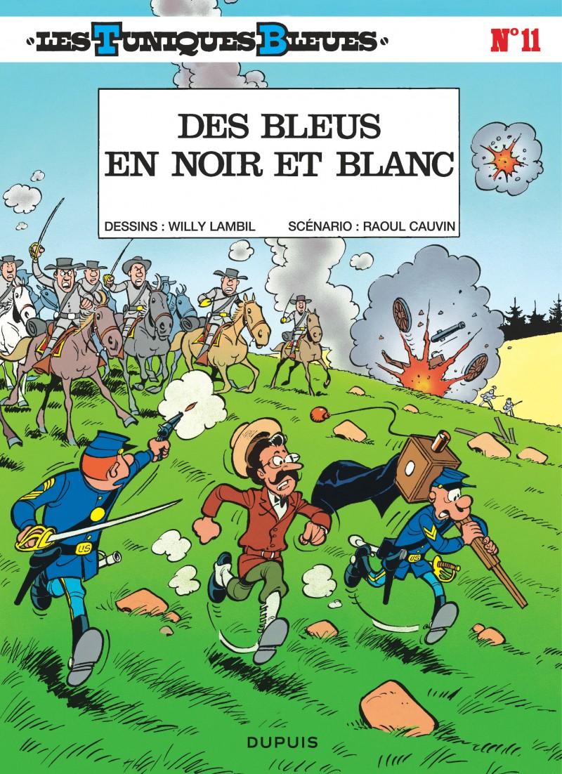 Les Tuniques Bleues - tome 11 - Des Bleus en noir et blanc