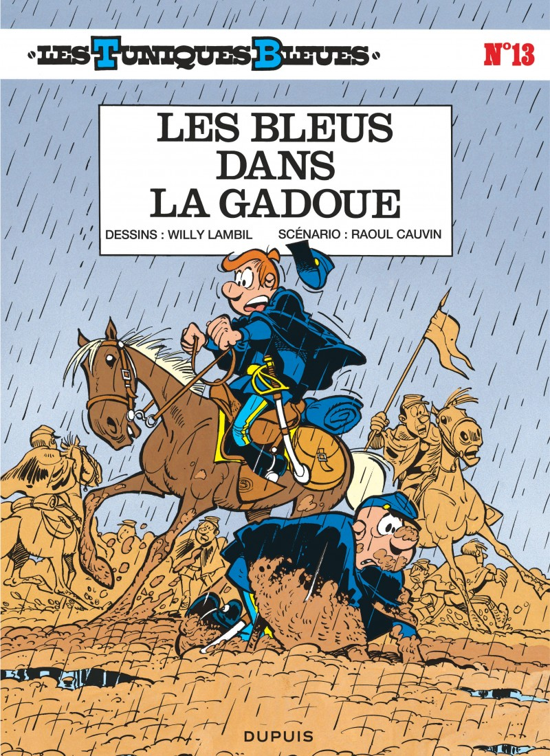16dd964a88e8 Les Bleus dans la gadoue, tome 13 de la série de bande dessinée Les ...