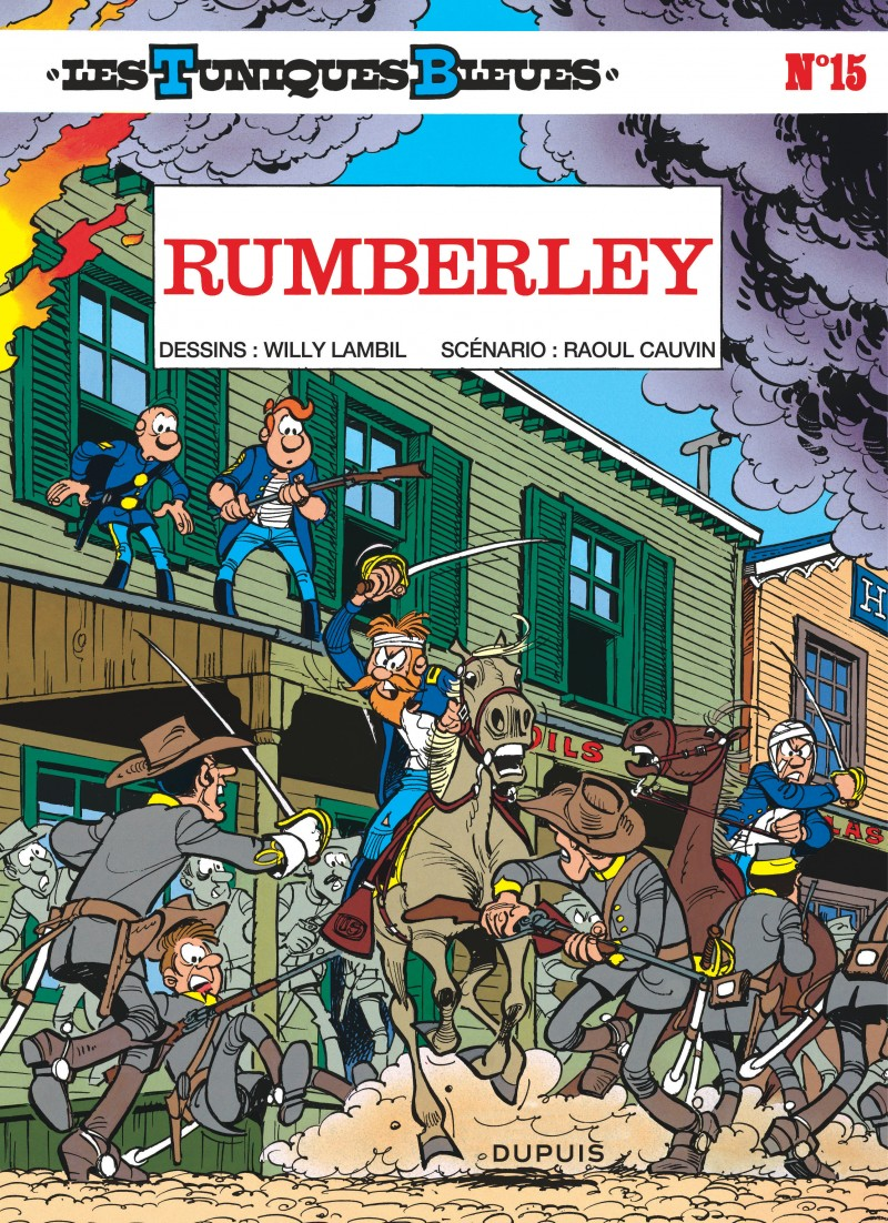 07cdb3187d23 Rumberley, tome 15 de la série de bande dessinée Les Tuniques Bleues ...
