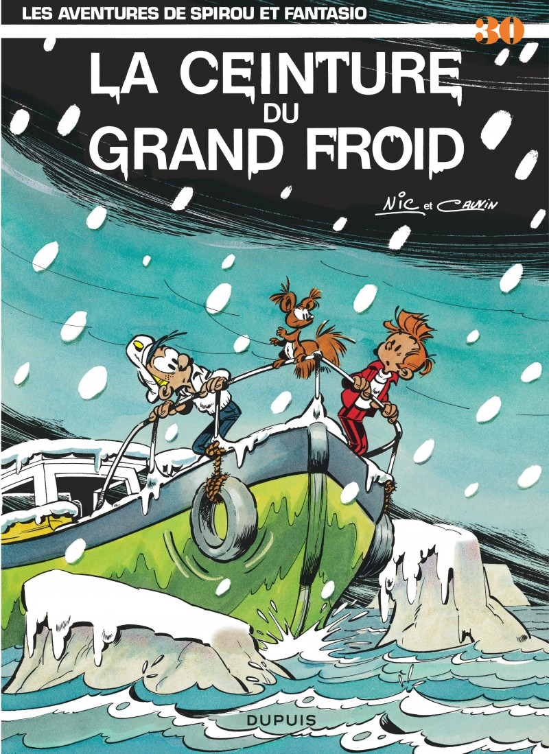 Spirou and Fantasio - tome 30 - La Ceinture du grand froid