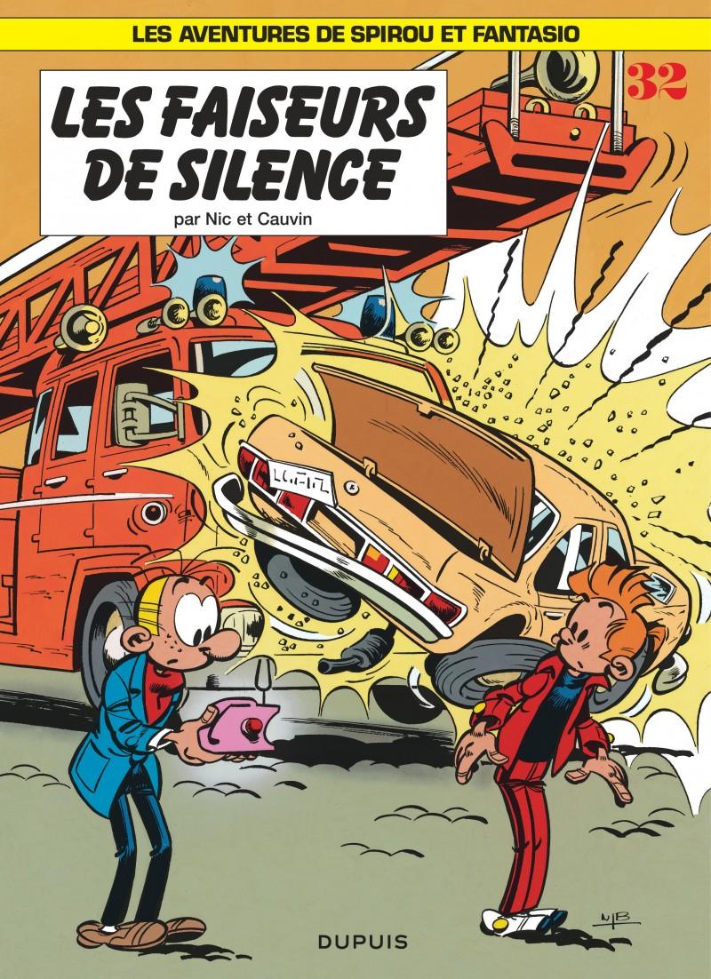 Spirou and Fantasio - tome 32 - Les Faiseurs de silence