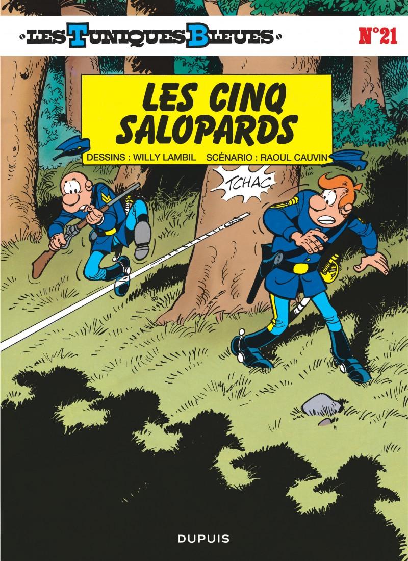 Les Tuniques Bleues - tome 21 - Les Cinq salopards